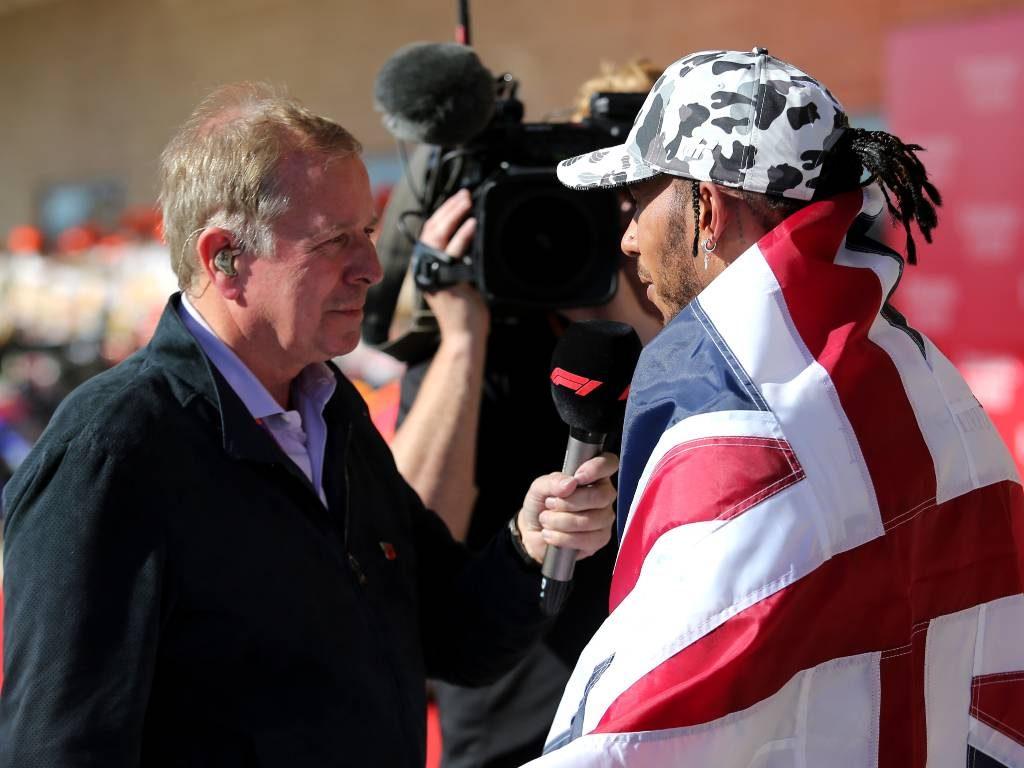 Martin Brundle, Lewis Hamilton