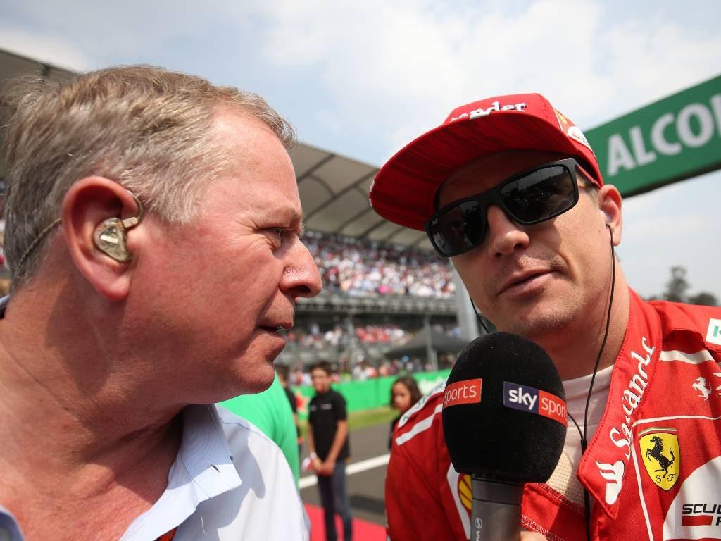 Martin Brundle Kimi Raikkonen