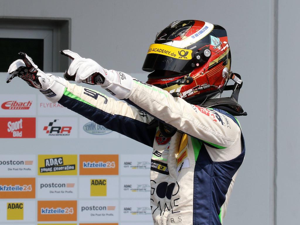 Lirim Zendeli on F1 tests
