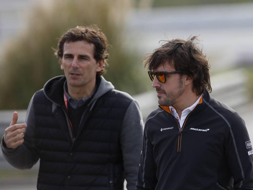Pedro de la Rosa, Fernando Alonso