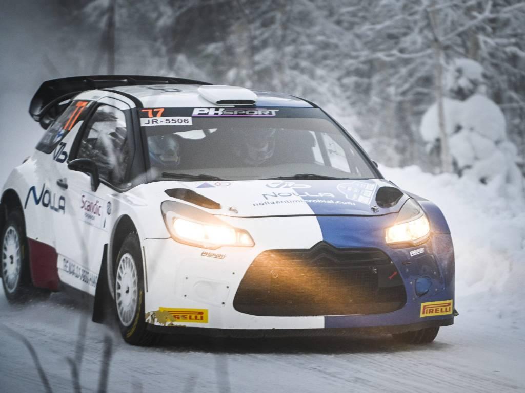 Valtteri Bottas, 2021 Arctic Rally shakedown