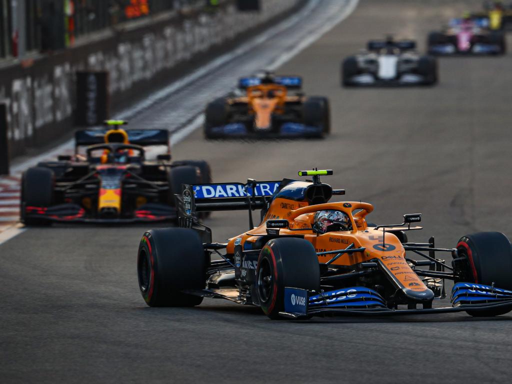 McLaren Red Bull McLaren