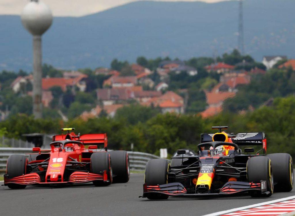 Charles Leclerc, Ferrari, Max Verstappen, Red Bull