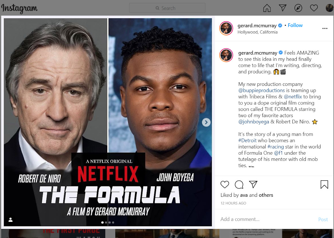 Gerard McMurray Instagram