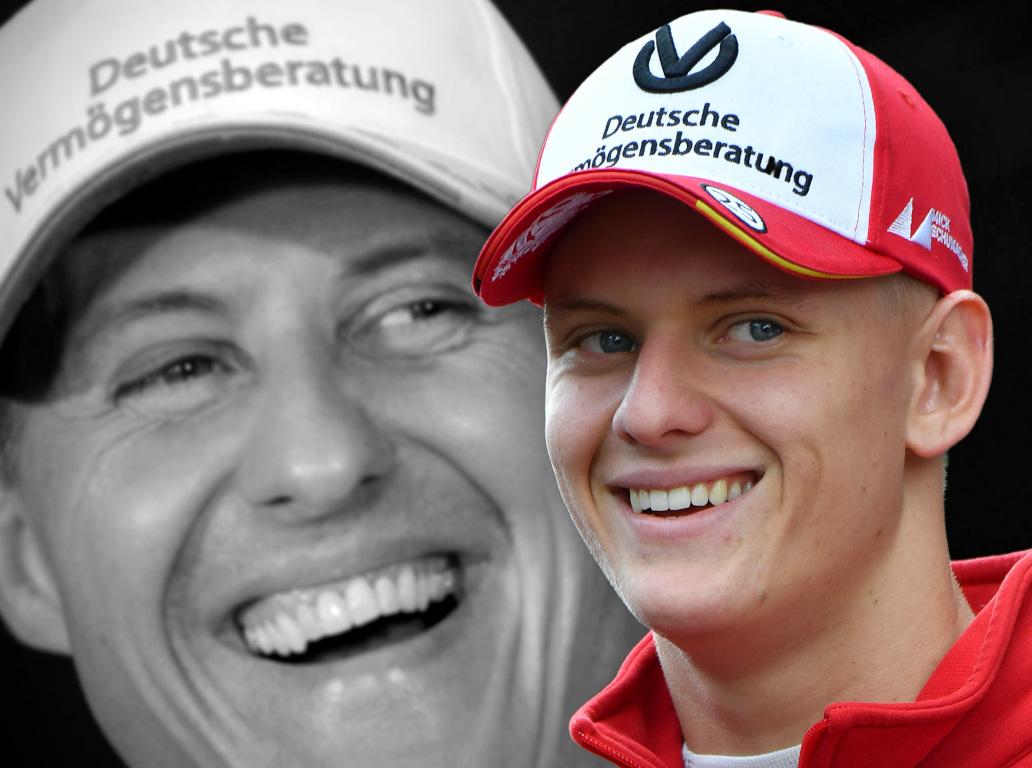 Mick Schumacher and Michael Schumacher