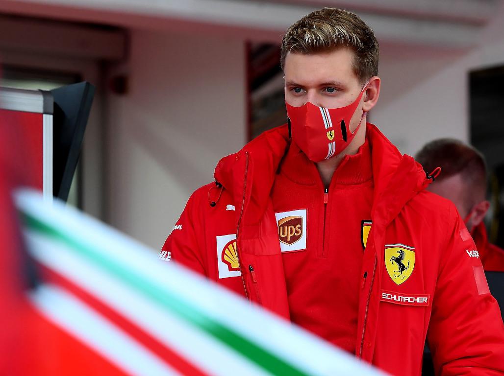 Mick Schumacher Ferrari kit