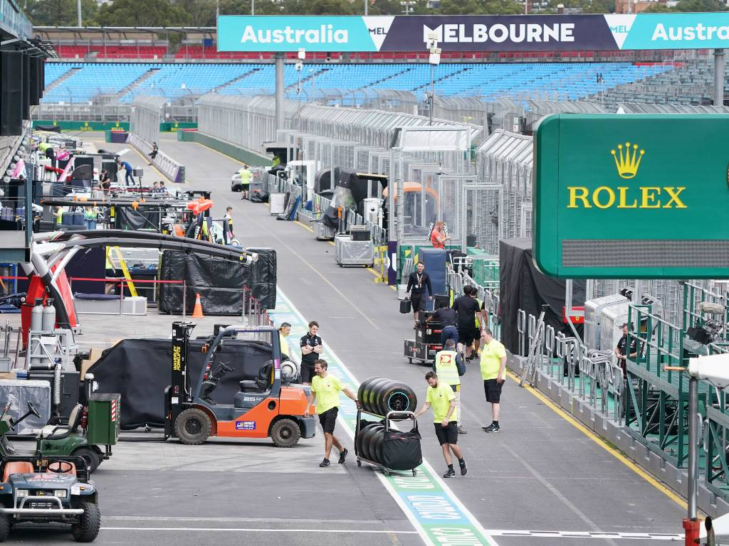 Australian Grand Prix officials are using the postponement of their race until November to make some tweaks to the Albert Park venue – notably a widening of the pit lane.
