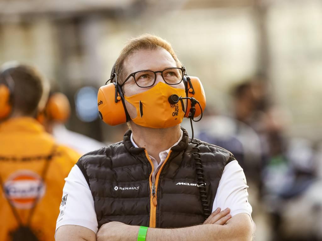 McLaren team principal Andreas Seidl