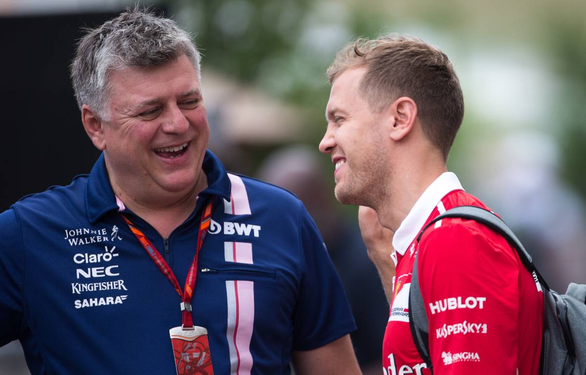 Otmar Szafnauer Sebastian Vettel