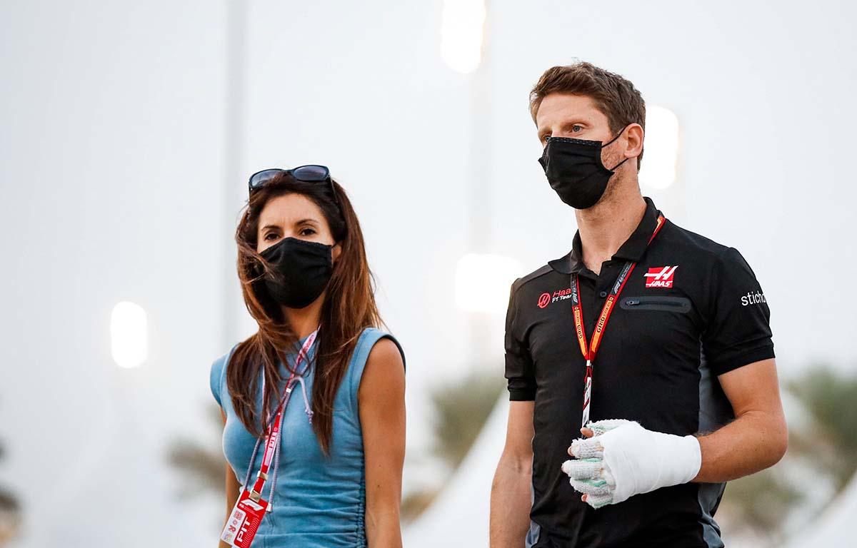 Romain Grosjean wife PA