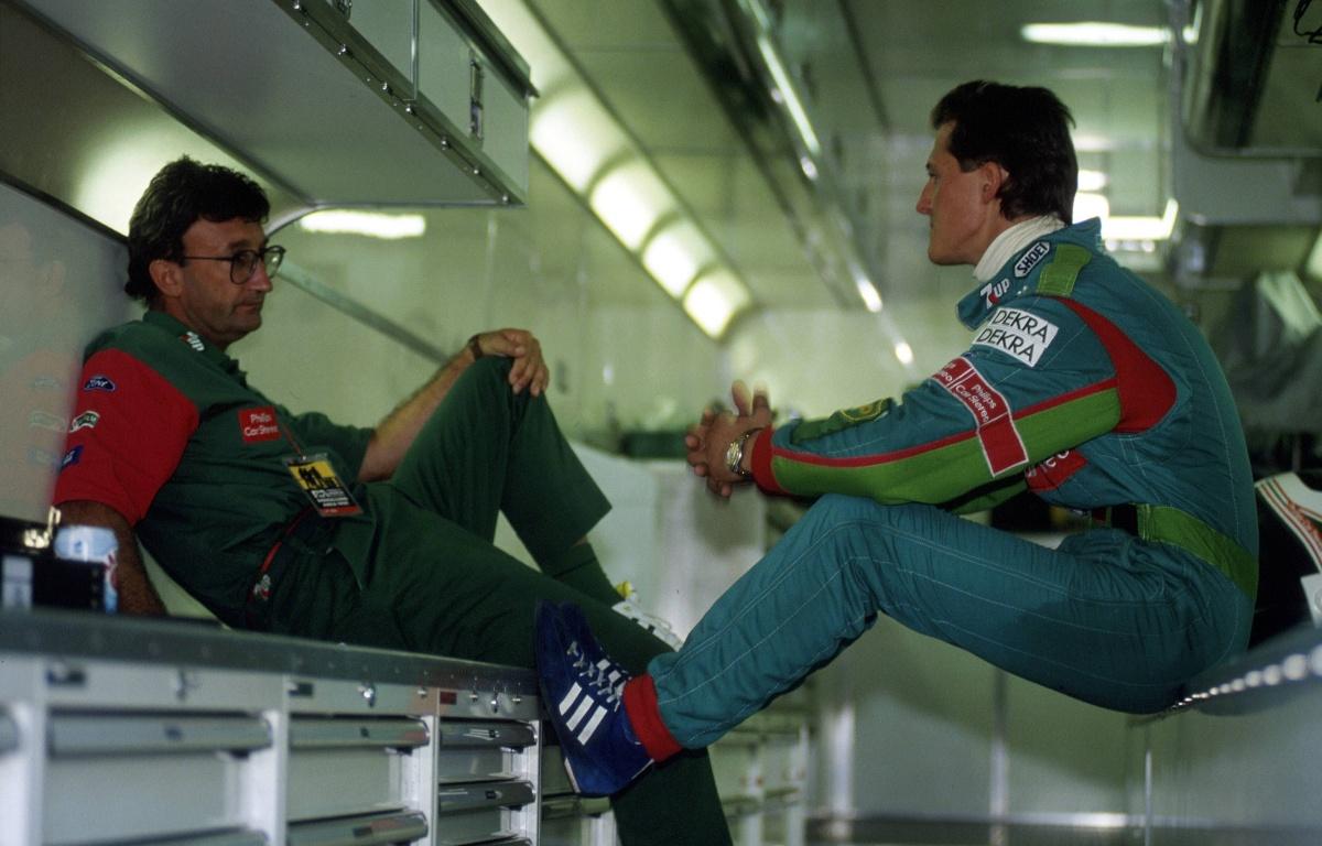 Michael Schumacher Eddie Jordan