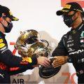 Lewis Hamilton Max Verstappen Bahrain 2020