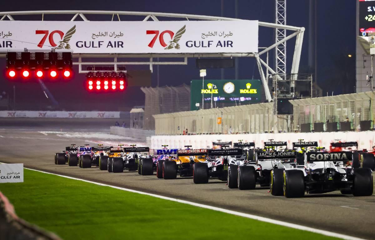 Bahrain Grand Prix grid