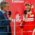 Eddie Jordan Sebastian Vettel