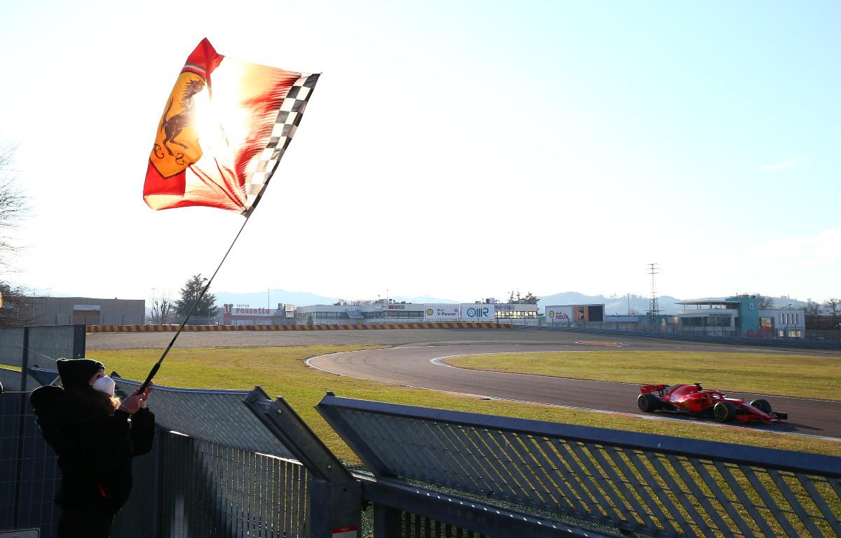 Ferrari Fiorano Circuit.
