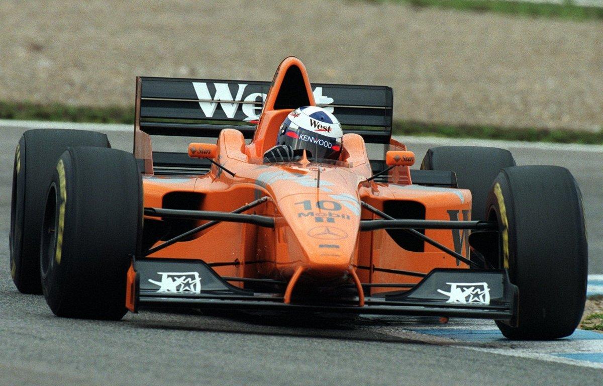 McLaren 1997 livery