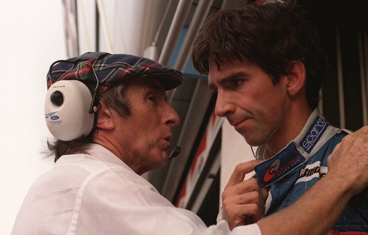 Damon Hill and Jackie Stewart