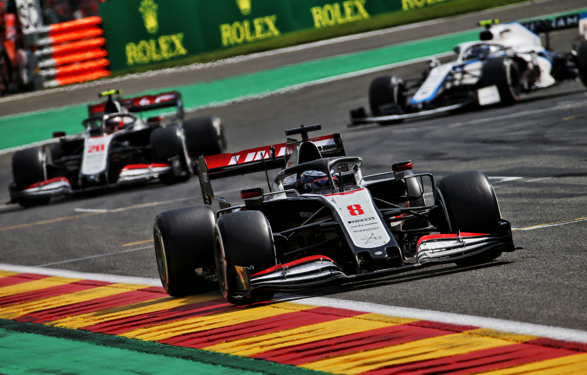 Romain Grosjean Haas racing
