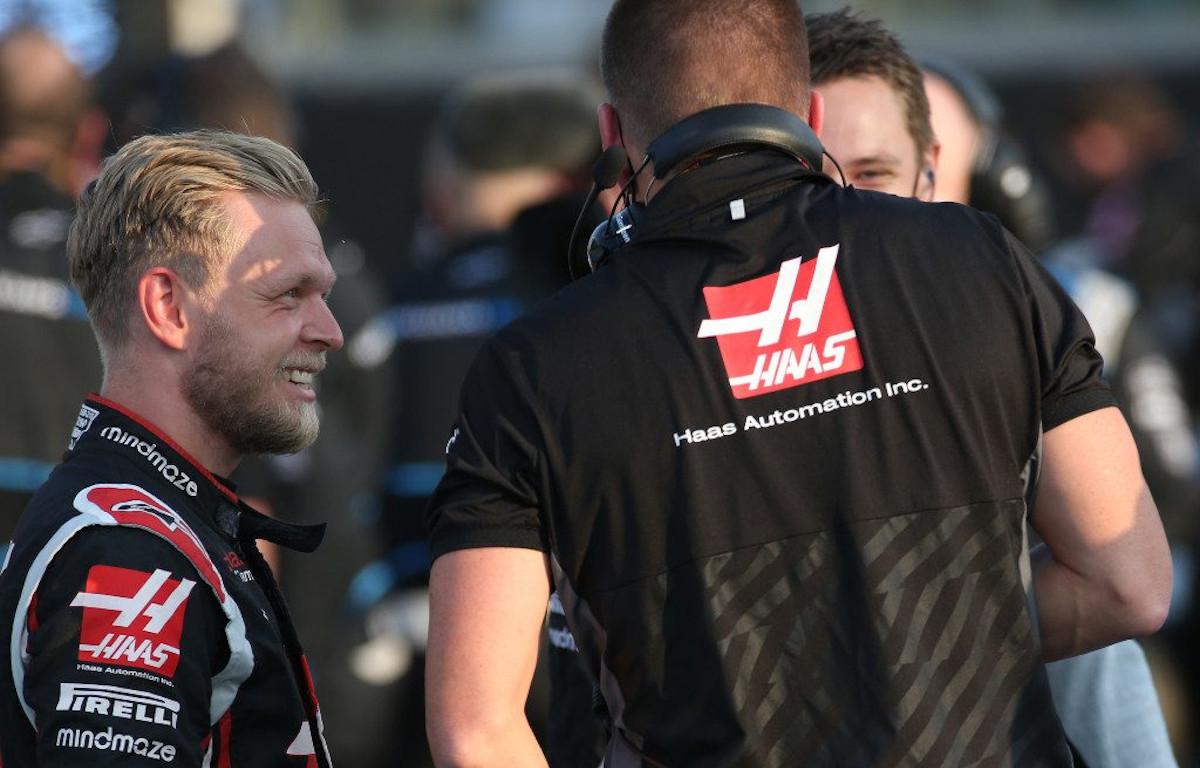 Kevin Magnussen Haas