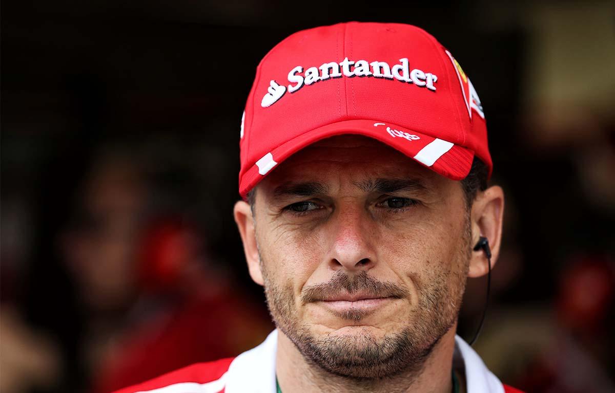 Giancarlo Fisichella Ferrari PA