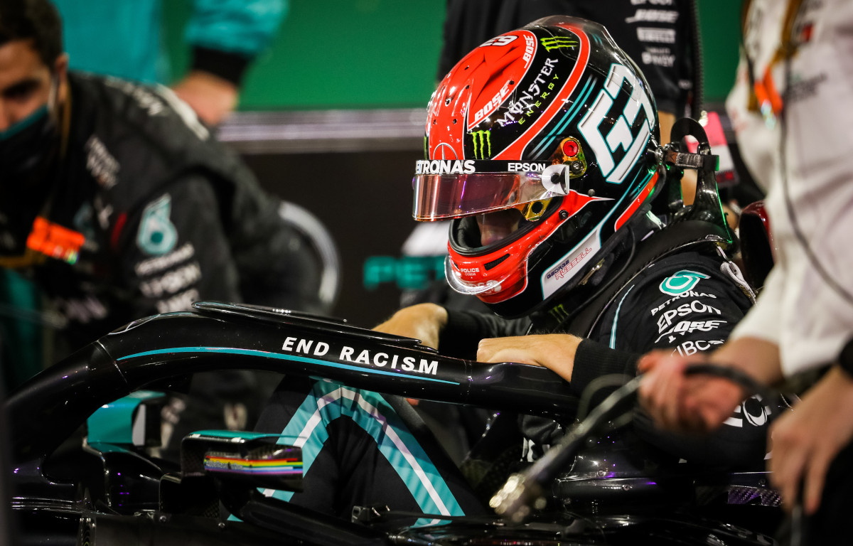 George Russell Mercedes W11
