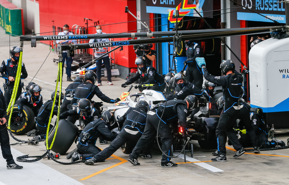Williams pit stop PA