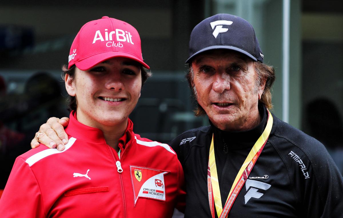 Enzo Fittipaldi and Emerson Fittipaldi