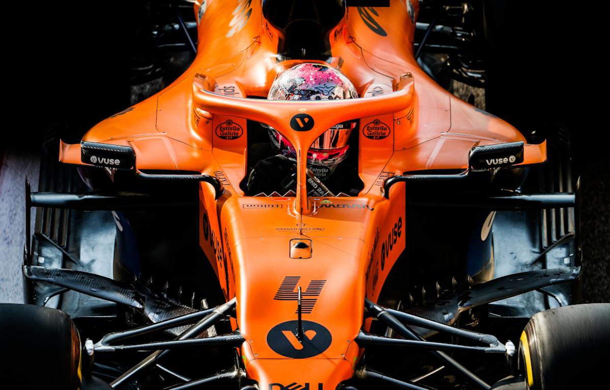 Lando Norris McLaren 2020