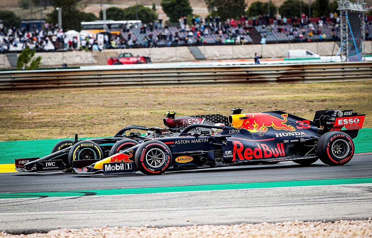 Valtteri Bottas Max Verstappen Portuguese Grand Prix Portimao