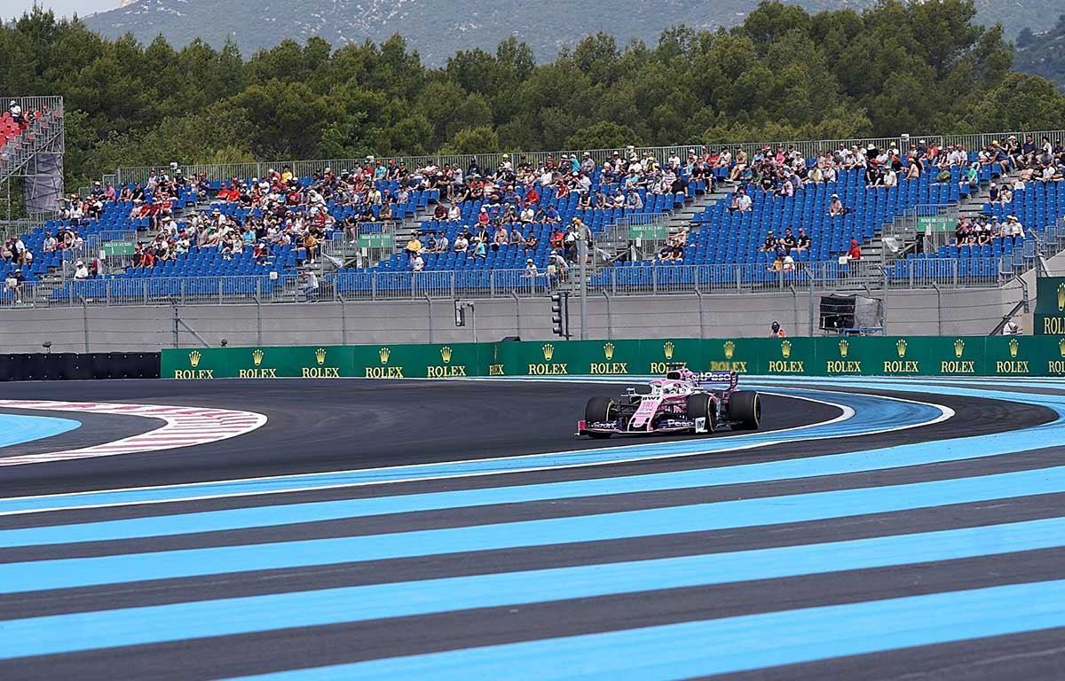 Sergio Perez French GP