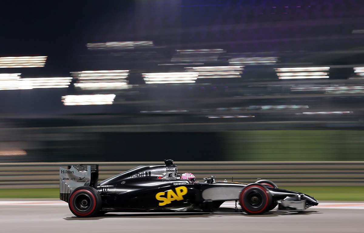 McLaren Jenson Button MP4-29
