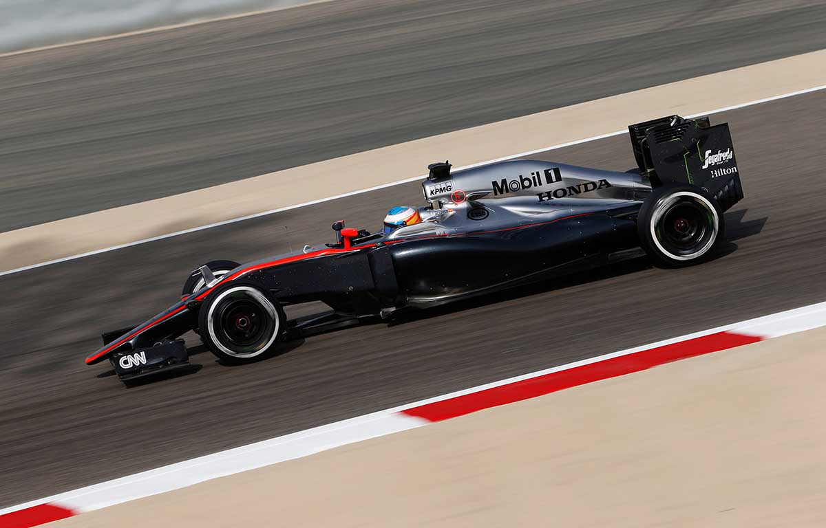 McLaren MP-30 Fernando Alonso