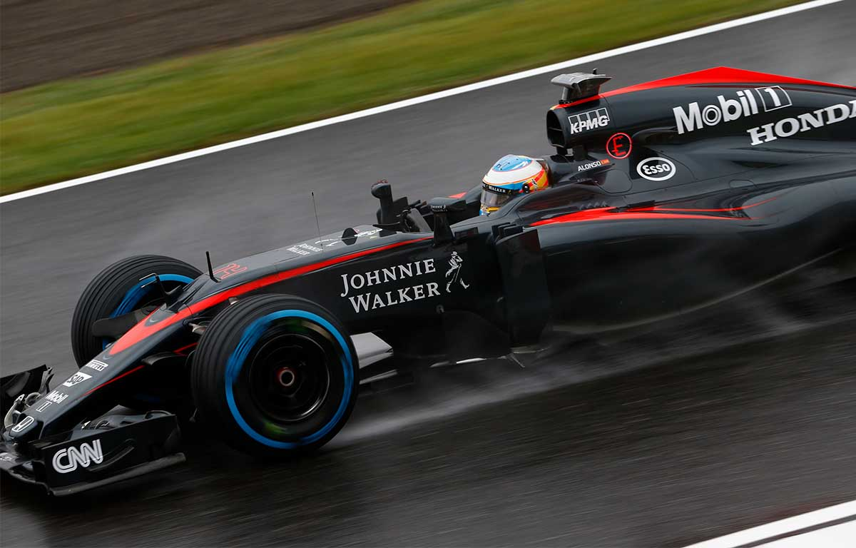 McLaren MP4-30 Fernando Alonso