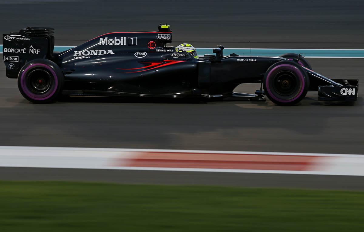 McLaren MP4-31 Jenson Button