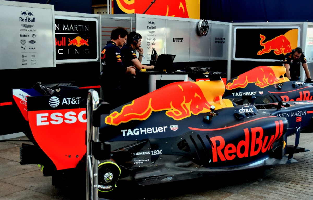 Red Bull engine PA