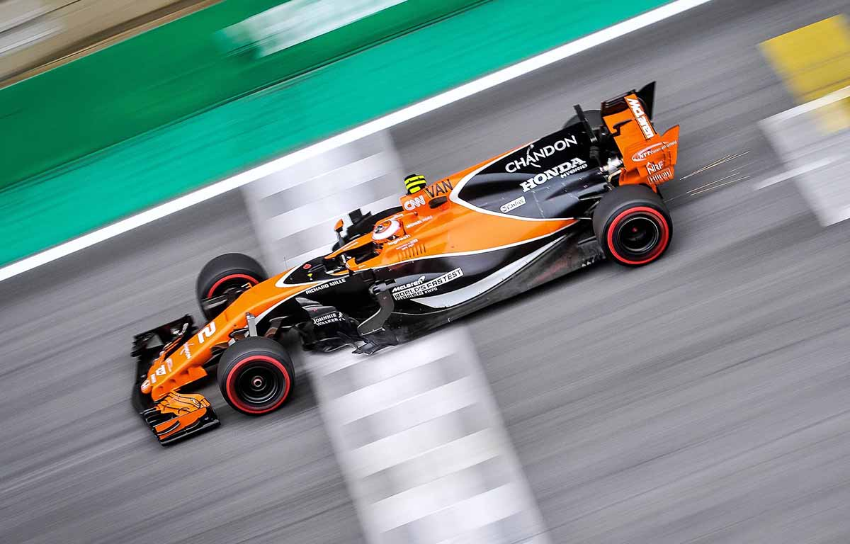 McLaren MCL32 Vandoorne