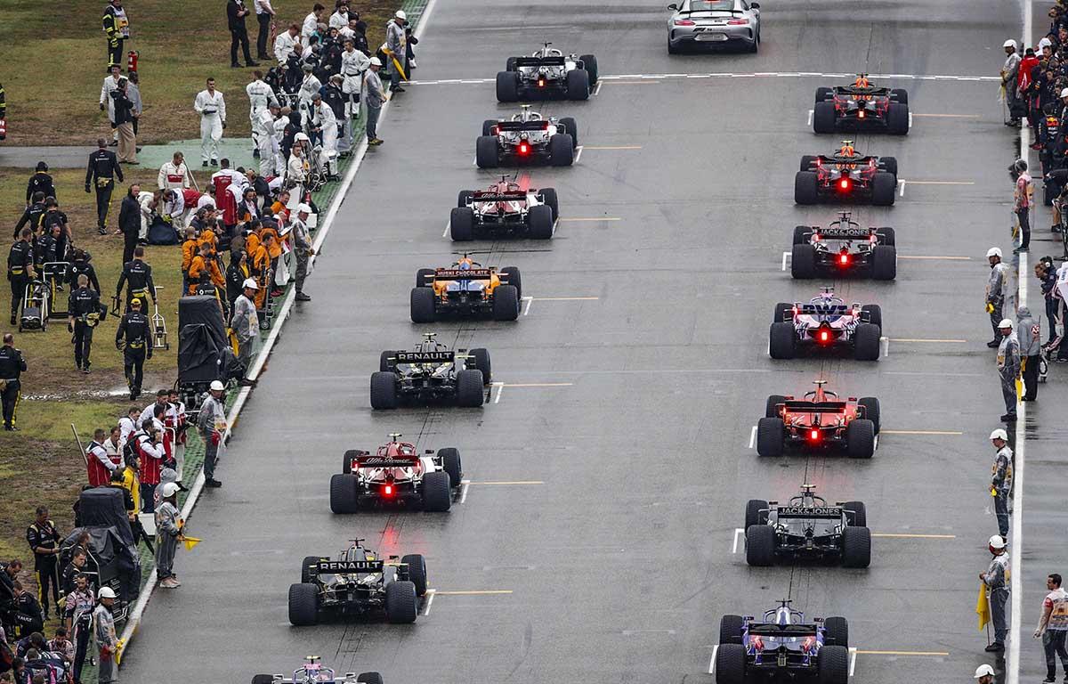 German GP grid