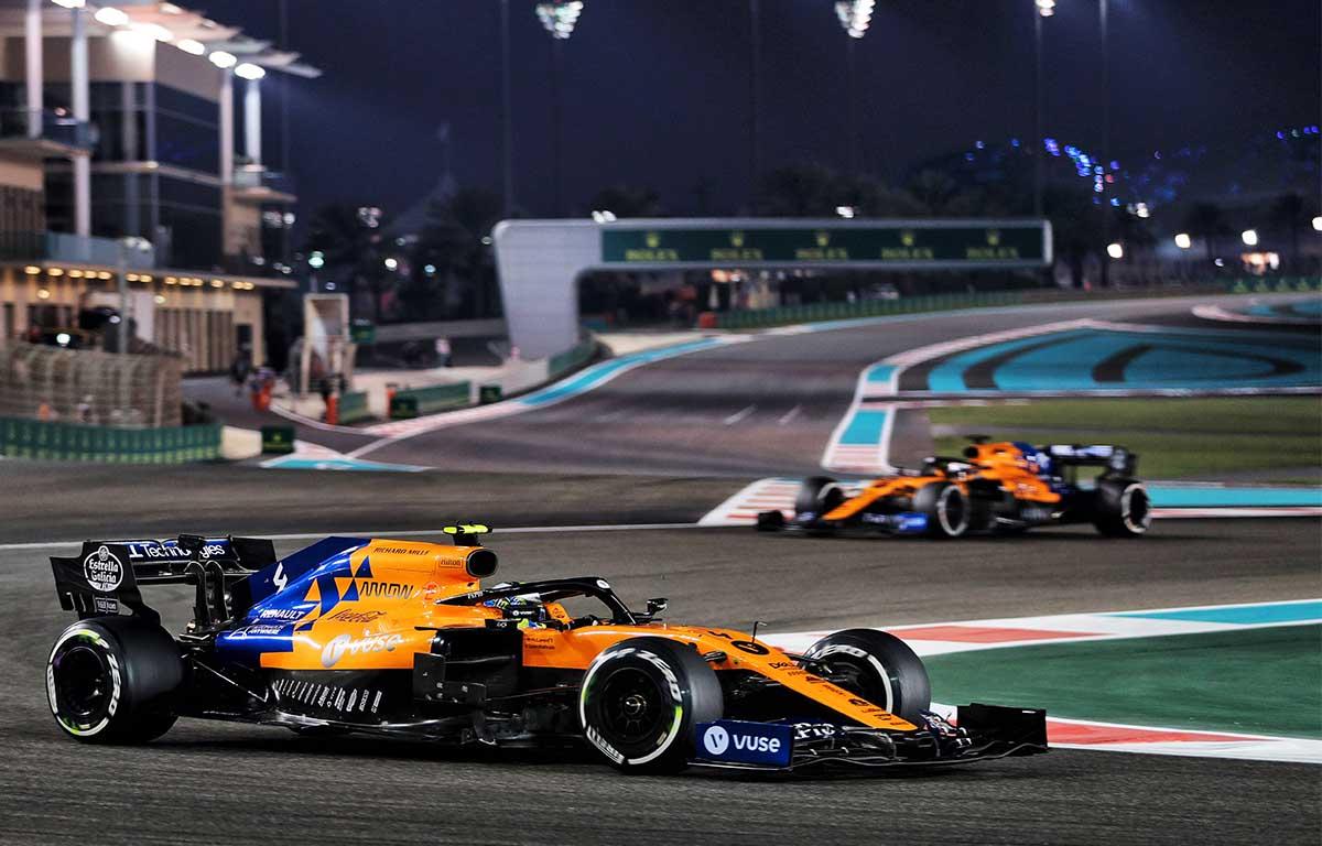 McLaren MCL34 Lando Norris