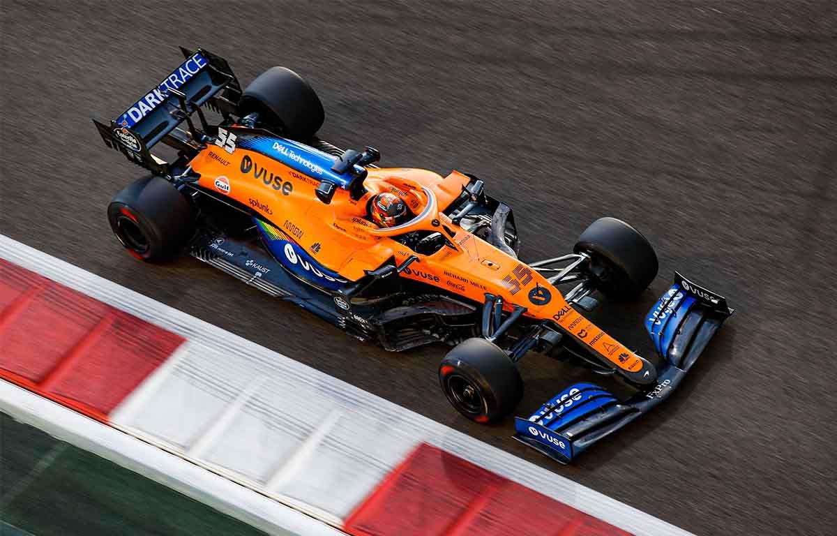 McLaren MCL35 Carlos Sainz