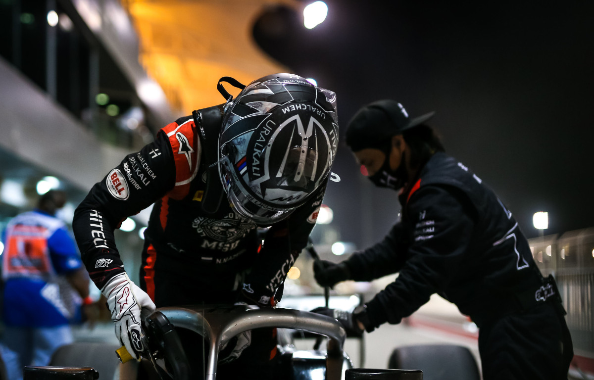 Nikita Mazepin Fórmula 2