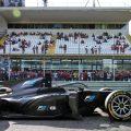 18-inch Pirelli tyres on F2 car