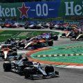 2020 Italian Grand Prix start