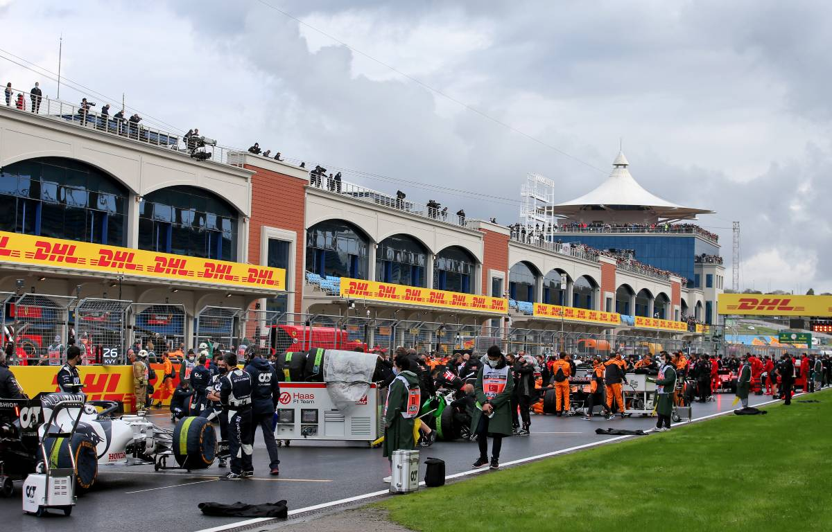 Formula 1 Turkish GP grid