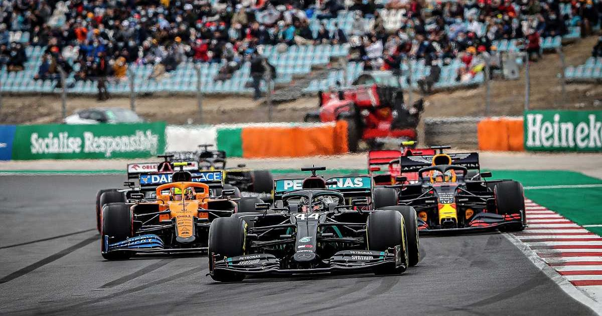 Mercedes McLaren Red Bull Portuguese GP