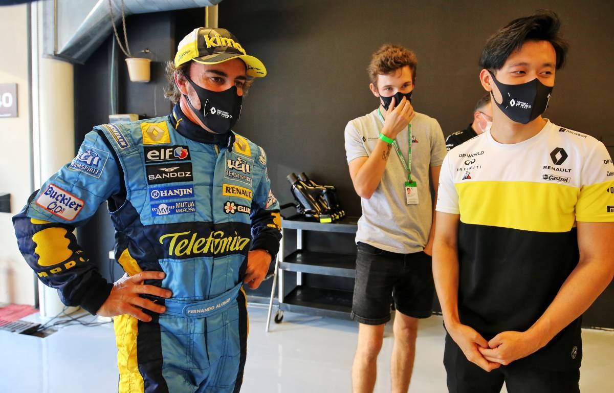 Fernando Alonso Guanyu Zhou Christan Lundgaard