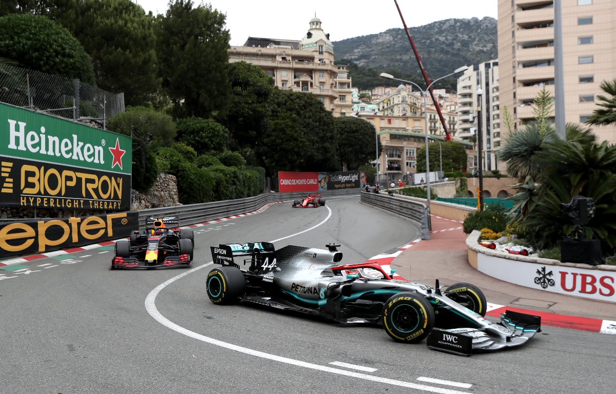Lewis Hamilton Max Verstappen Monaco Grand Prix