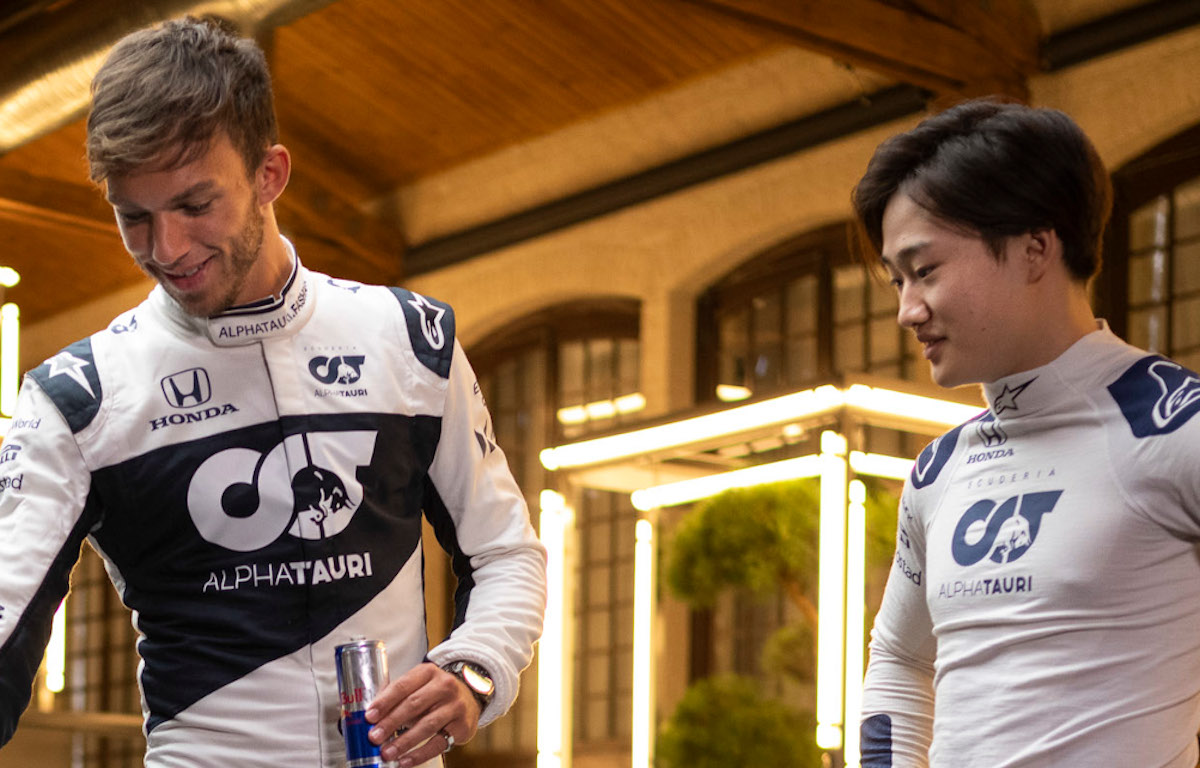 Pierre Gasly and Yuki Tsunoda