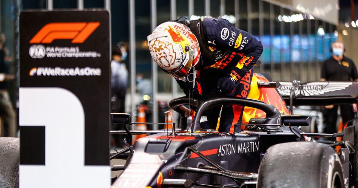Max Verstappen race winner