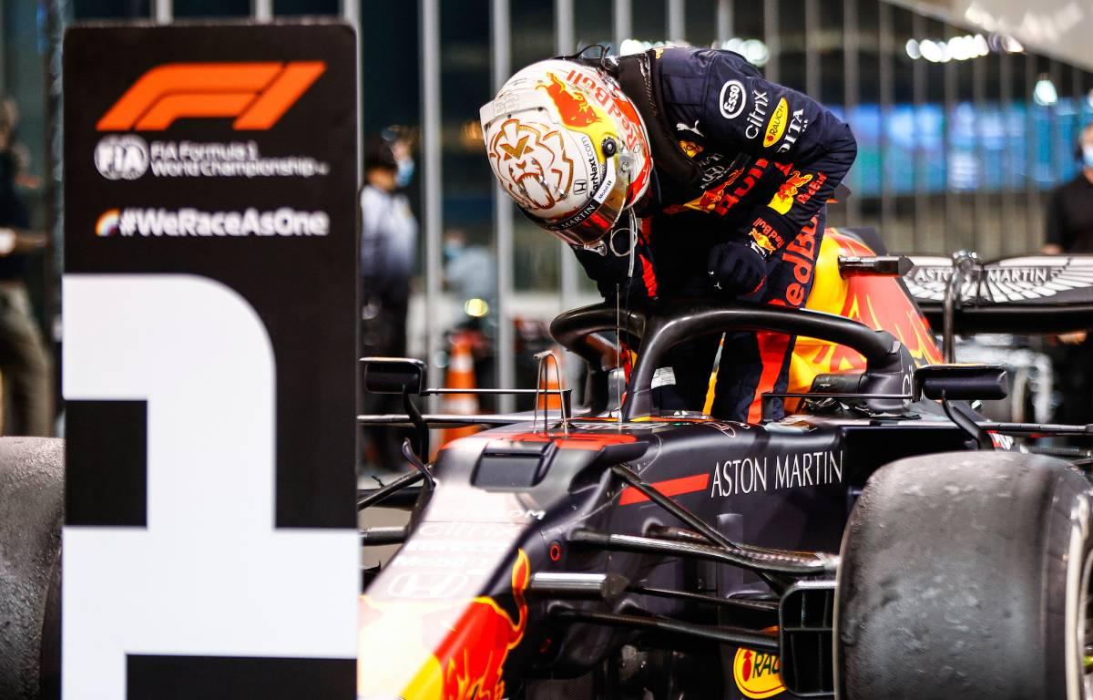 Max Verstappen Abu Dhabi 2020