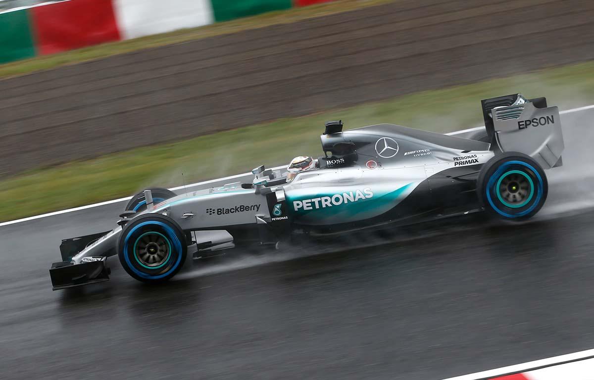 Mercedes W06 2015 Lewis Hamilton PA